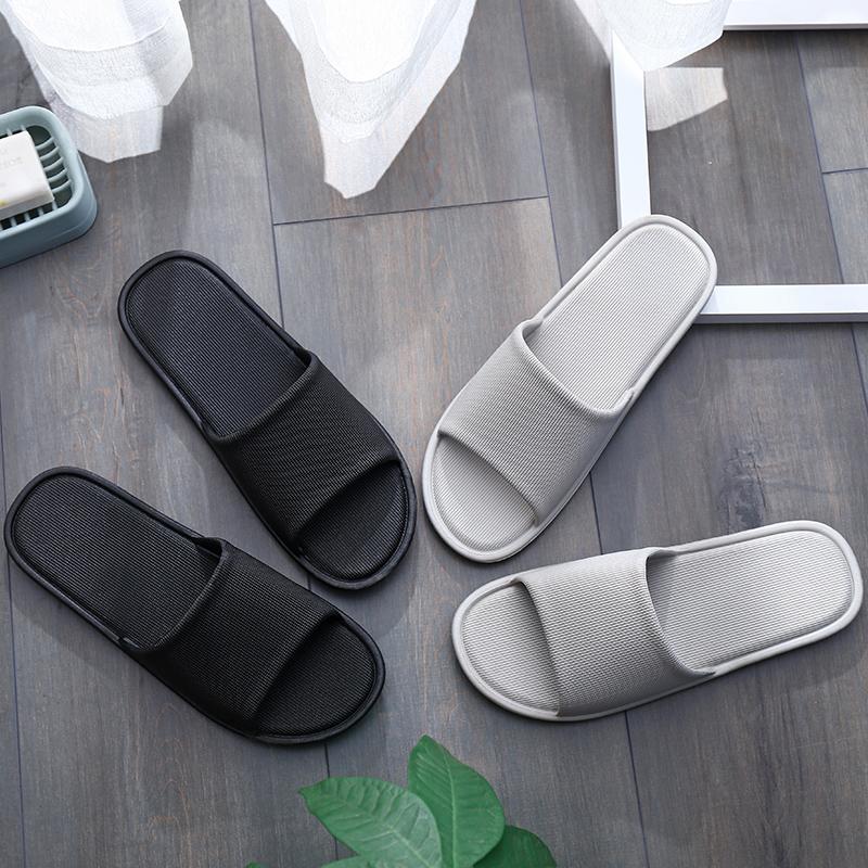 日式居家男情侣凉拖鞋女夏室内拖鞋塑料防滑浴室洗澡家居家用鞋
