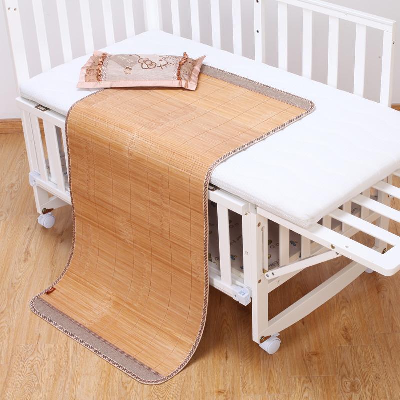 婴儿夏季儿童床幼儿园专用夏竹凉席买三送一