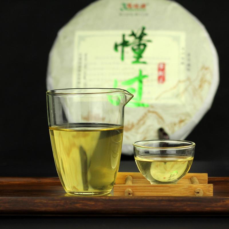 限购勐库懂过古树纯料云南普洱茶生茶357g生普洱七子饼官方正品茶