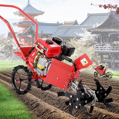 Agricultural gasoline cultivator four-stroke weeding machine micro tiller small soil ripper high horsepower rotary tiller tiller