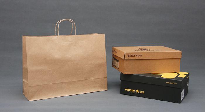 横款超大10色购物服装纸袋 45*33*15厘米 16圆10个