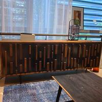 进口橡木北欧表情茶几电视柜组合现代简约小户型边柜住宅家具官网