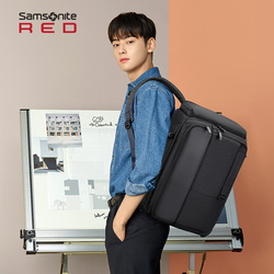 Samsonite/新秀丽双肩包男2019新款 休闲舒适背包多功能旅行包GG1