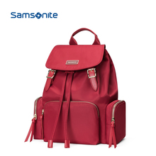 Samsonite/New Beautiful Shoulder Bag Nylon Fashion Leisure Backpack Trendy Female Travel Bag TQ4