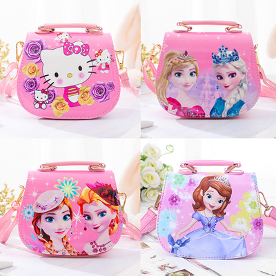 网红儿童包包可爱女童斜挎包时尚公主卡通小包单肩手提小女孩挎包