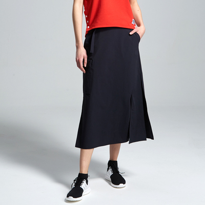 Northland spring and summer niche design sense female casual split ends, comfortable and breathable temperament all-match skirt KL082222