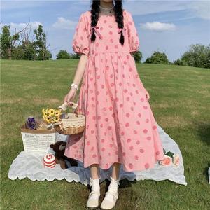 小个子日系甜美少女2021新款连衣裙