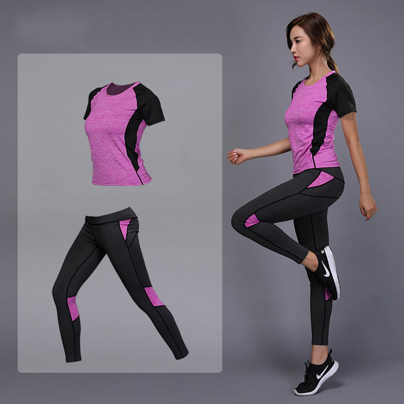 Pieces Women Yoga Set Fitness Gym Clothes Running Tennis