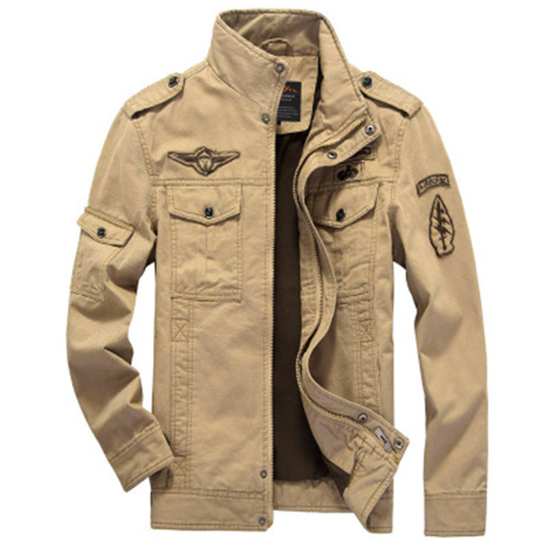 Brave Men army pilot Outerwear military sports jackets Firm