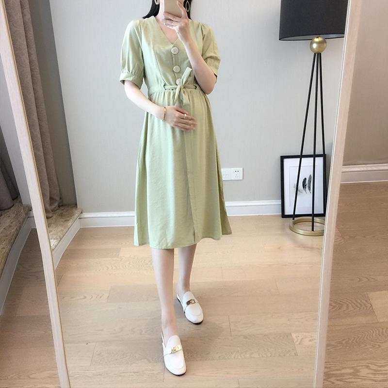 孕妇夏装上衣韩版宽松夏天夏连衣裙11-07新券