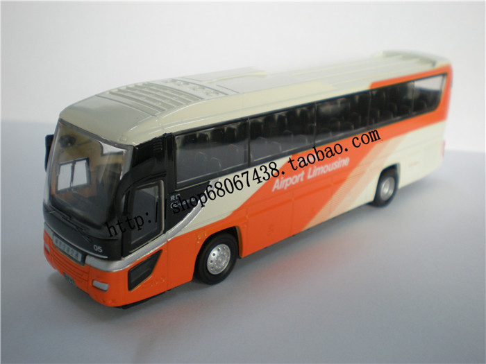 日本バス日野モデル東京空港バス1/80合金おもちゃバス旅行プレゼント