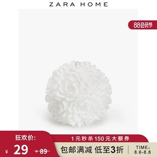 Zara Home 圆形花朵蜡烛 48845065250