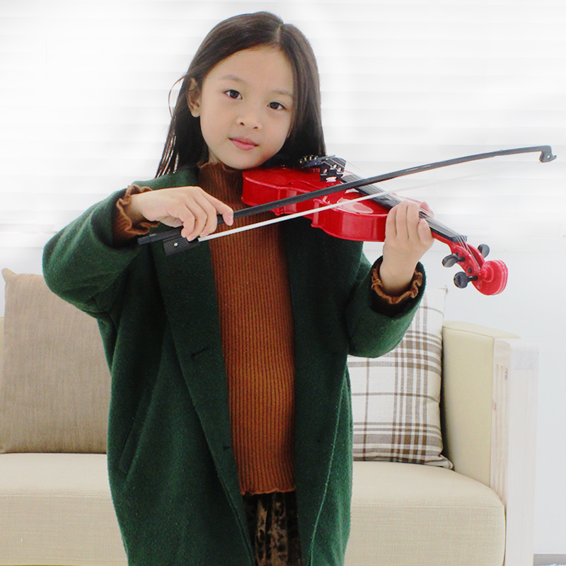 Baoli childrens violin toy musical instrument birthday gift boys and girls 3-6 years old beginners