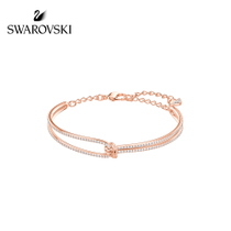 Swarovski lifelong bracelet knotted design temperament bracelet female jewelry wrist Decorations