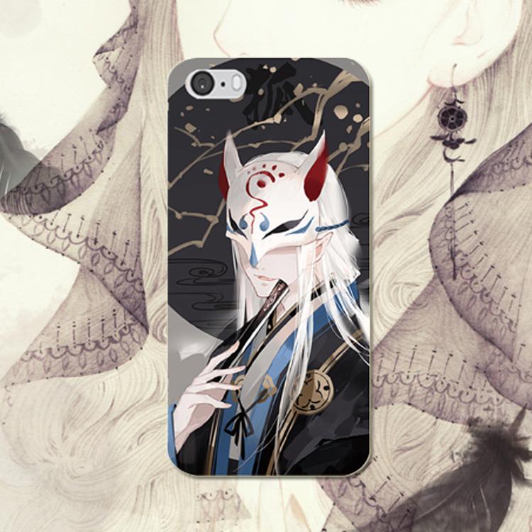 Japanese anime cat iPhone 7 6S mobile phone case vivo X7 x9 mobile phone shell Meizu series hard shell