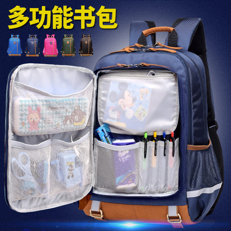 Schoolbag for middle school students boys and girls for junior high school students