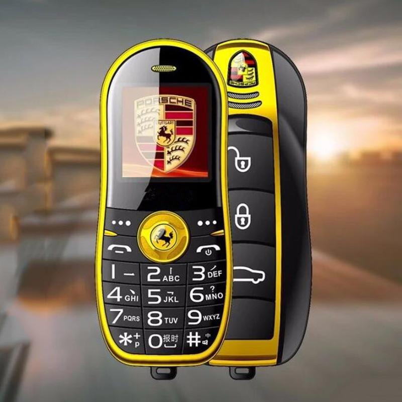 儿童迷你小手机学生手机非智能跑车卡通可爱直板老人机4G全网通