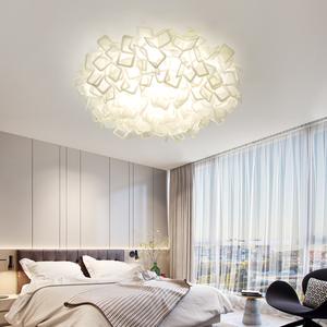 北欧客厅简约现代创意花灯吸顶灯