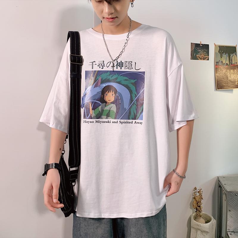 夏季韩版潮流男士纯棉短袖T恤半袖体恤丅夏装学生潮牌上衣服男装