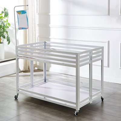 Thickening adjustment folding promotion table supermarket promotion car clothing store flower cart shopping mall special sale truck stall shelf