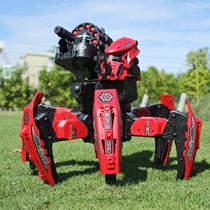 抖音同款遥控对战机器人男生电动仿生六脚智能蜘蛛双人儿童玩具
