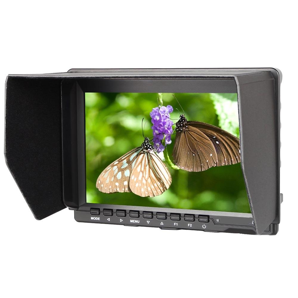 新品10インチIPSハイビジョン屋外撮影一眼レフカメラモニター1280*800ハイビジョン携帯電池
