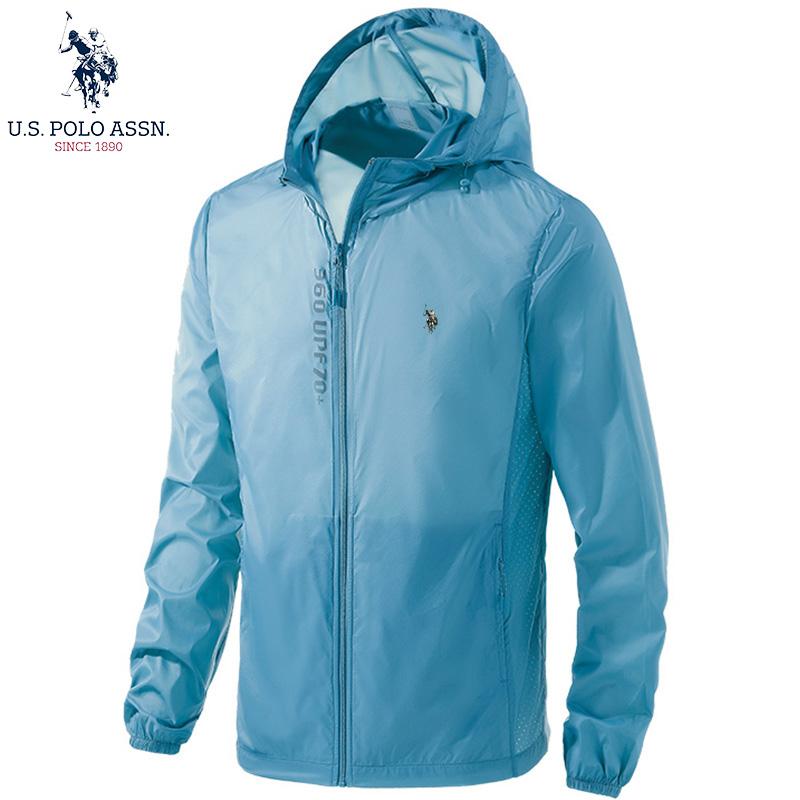 U. S. Polo Assn. American Polo Association couple sun proof skin coat ultra thin breathable jacket