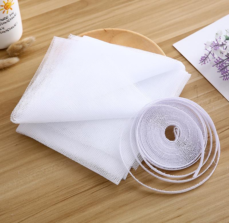 门帘通风不透明自粘型窗户防蚊子磁条沙窗纱网DIY定做隐形防蚊纱