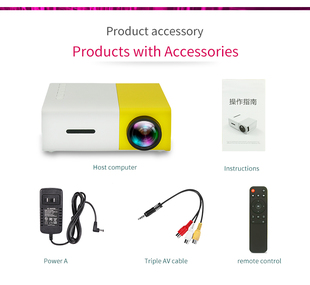 connected portable mobile Projector theater mini disk home LED投影仪 projector