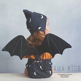 MAMA KIDS 我有一双黑色翅膀 宝宝背带装饰+头饰 舞会装扮凹造型图片