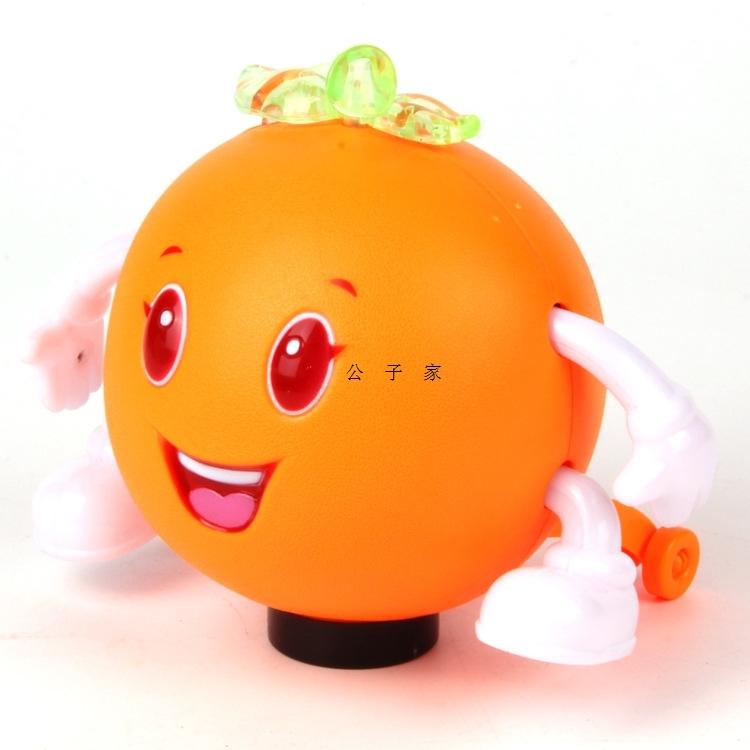 公子家婴幼儿益智早教玩具电动苹果橘子故事机发光音乐