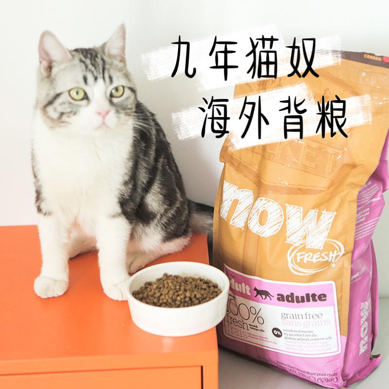 加拿大now fresh无谷天然粮幼猫粮_加拿大NOW Fresh无谷天然粮成猫幼猫粮 进口猫粮8磅包邮
