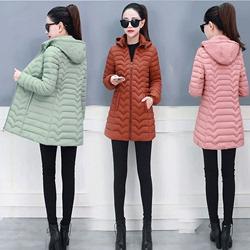 反季特卖女装清仓特价棉衣中长款2020年新款冬时尚轻薄款羽绒棉服