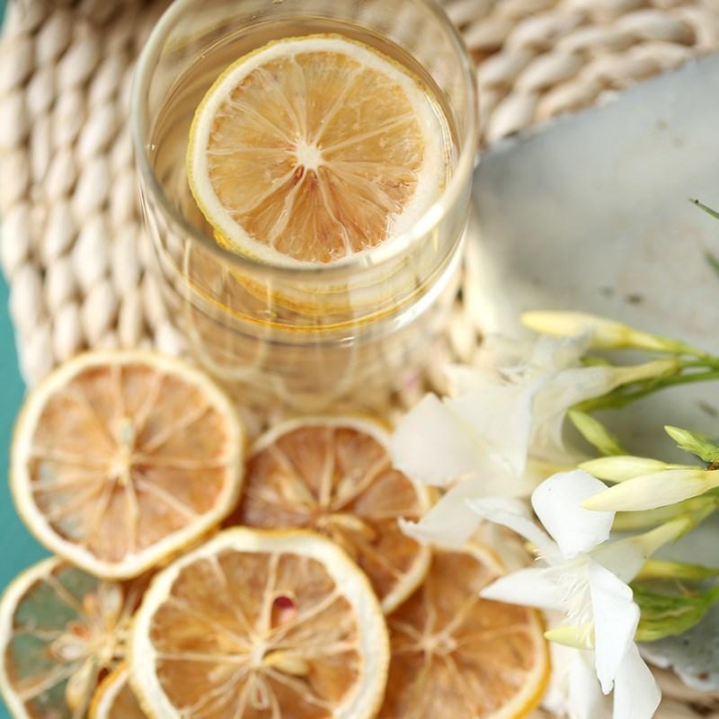 柠檬茶 柠檬片 柠檬干片 泡茶泡水 新鲜烘干 非蜂蜜冻干花草茶5。11-30新券