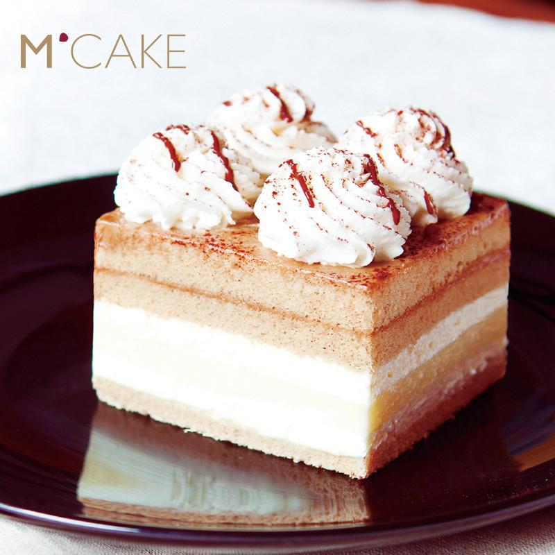 mcake卡法香缇奶油芝士慕斯咖啡生日蛋糕同城配送上海北京