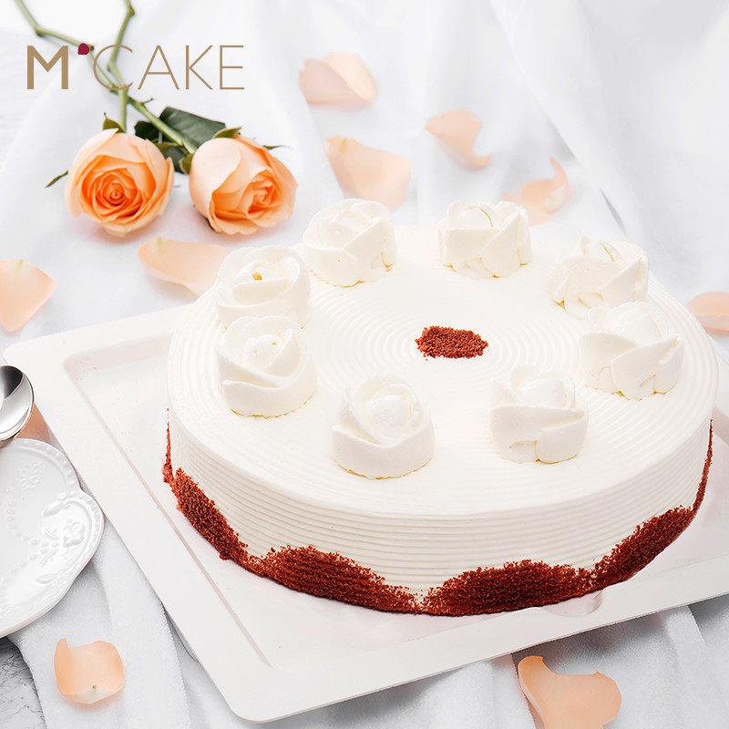 mcake官网蔓越莓水果蛋糕新鲜奶油生日蛋糕同城配送上海下午茶