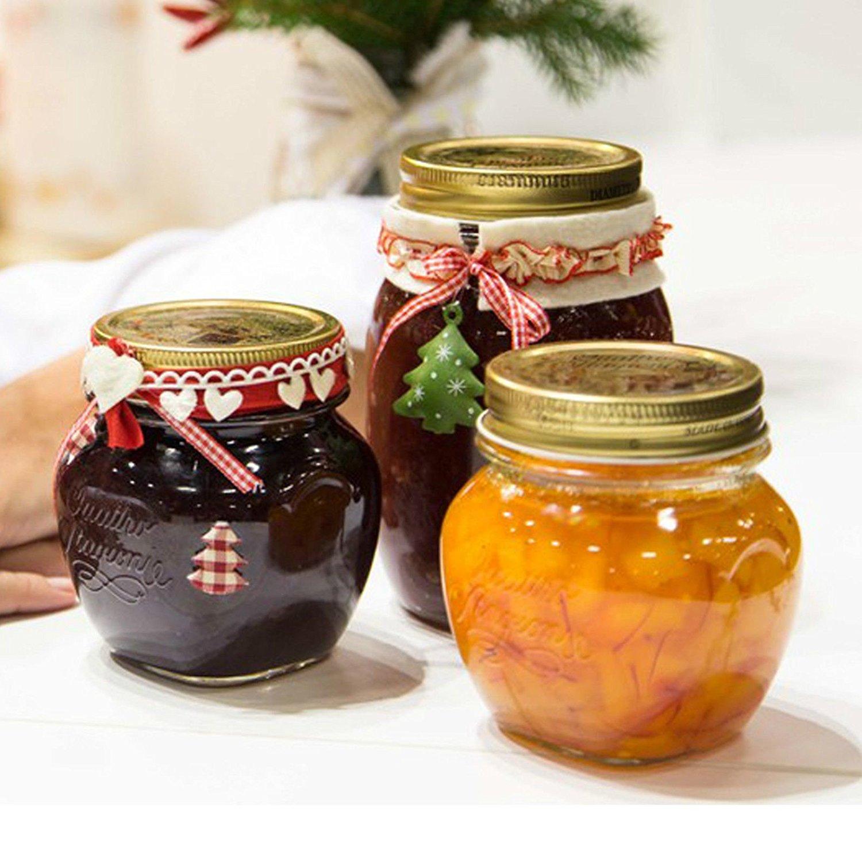 意大利进口分装瓶耐热高温家用可水煮蜂蜜果酱瓶子无铅玻璃密封罐