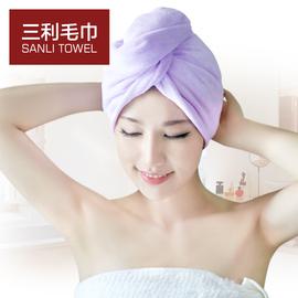 【拍2件减3元】三利加厚浴帽干发帽超强吸水包头巾擦头发速干毛巾