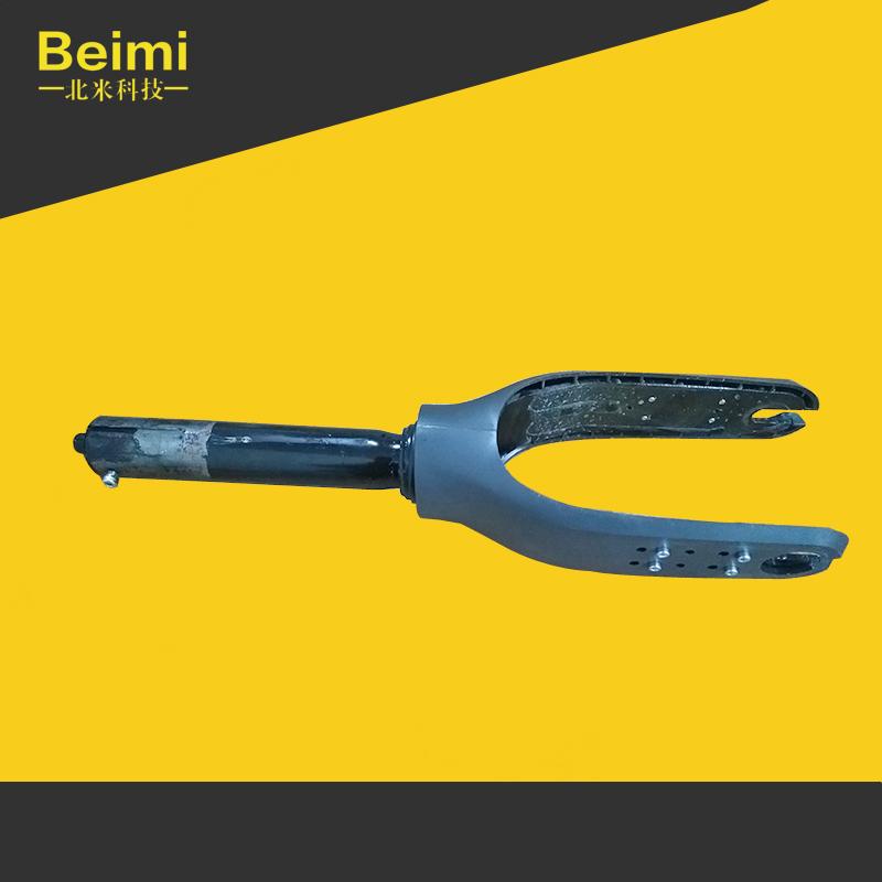 小米滑板车M3651S原装前叉前轮电机双卡避震向导件拆车零部件配件