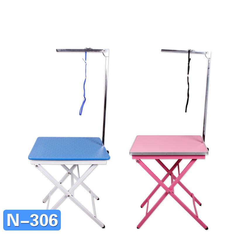 春舟寵物折疊美容台美容桌大號小號不鏽鋼便攜防滑狗貓金毛洗澡台