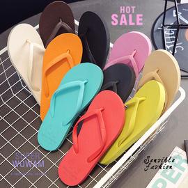 人字拖鞋女外穿2020新款夏季潮流韩版平底防滑沙滩鞋情侣网红凉拖