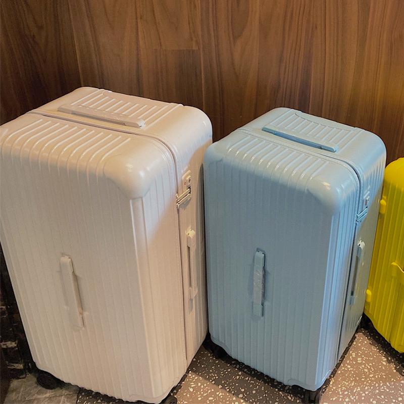 马东强超大容量学生行李箱女超轻拉杆箱30寸密码网红32旅行箱包男