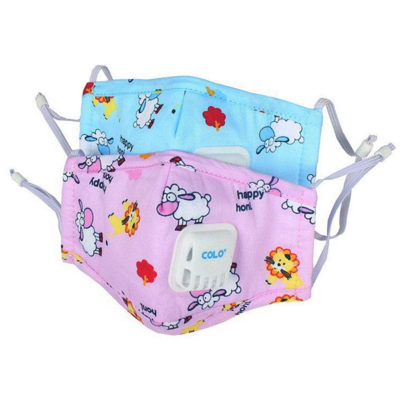防雾霾PM2.5儿童纯棉口罩男女宝宝保暖防风防尘透气可清洗易呼吸