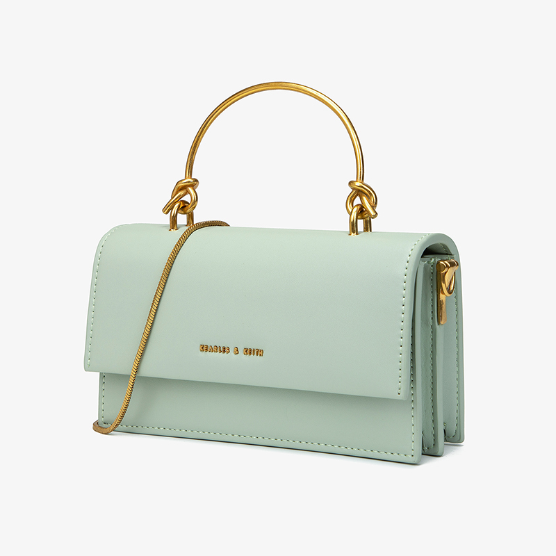 Korean fashion simple and versatile small bag womens messenger light small square bag in summer foreign style small CK chain retro Wallet