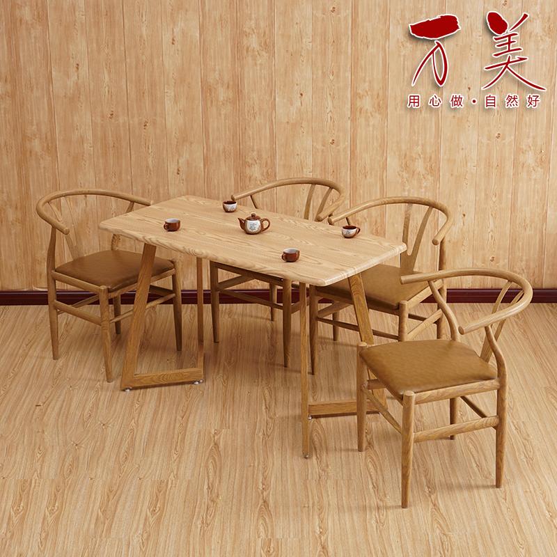 铁艺y字椅子靠背椅实木肯尼迪太师椅新中式餐厅桌椅家用北欧餐椅
