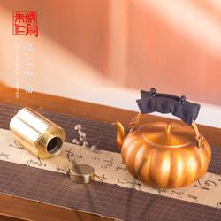 朱炳仁铜 福上加福套装 客厅装饰摆件办公桌摆件铜工艺品艺术礼