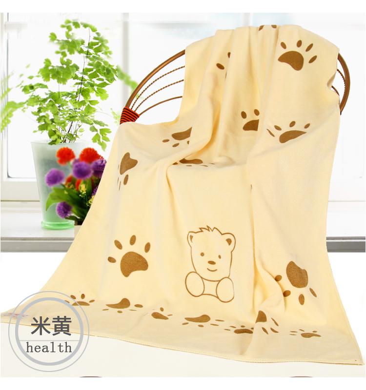 嬰兒浴巾比純棉紗布超吸水成人男女卡通包裹新生兒蓋毯洗澡大毛巾