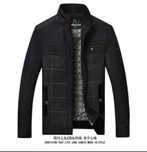 春秋款 爷爷上衣服 休闲夹克中老年人男装 外套薄款 爸爸秋装 中年男士