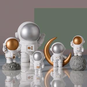 創意宇航員太空人模型擺件家居客廳房間酒柜裝飾品北歐小擺設禮物