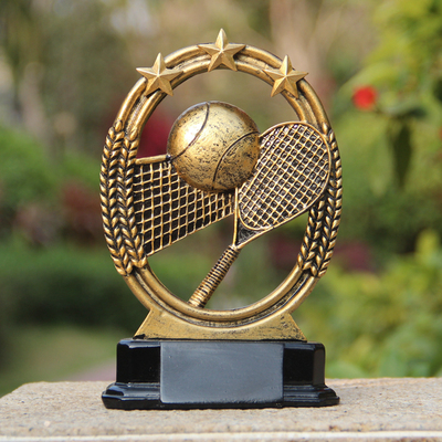 Tennis personalized custom gifts lettering creative competition craft commemorative prizes soft decoration ornaments birthday gifts